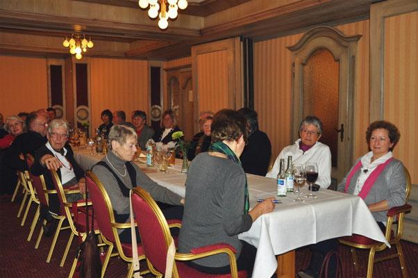 Kulturkreis Vellberg, Jahreshauptversammlung 2014 in der KRONE, Hessental