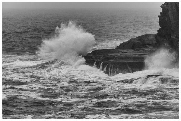 Valencia Island im Sturm