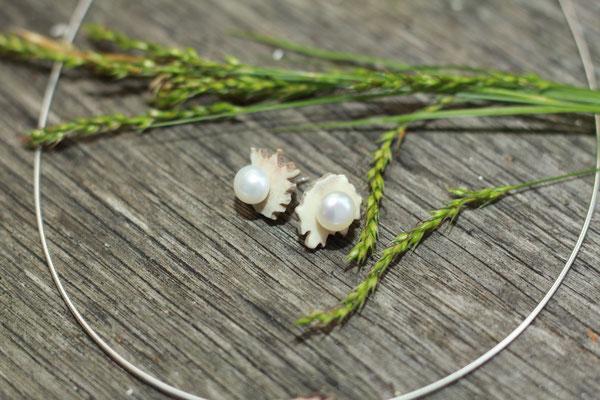 Trachtenohrringe mit Perlen  55,-€