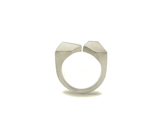 """Facets of Life"" Ring - Sterling silver"