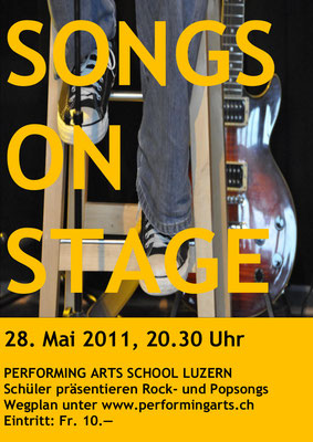 2011 KONZERT - SONGS ON STAGE