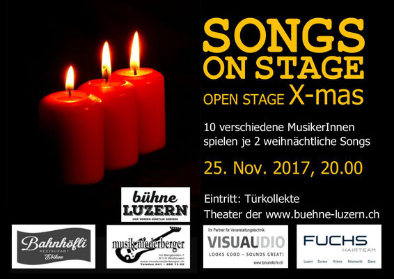 2017 KONZERT - SONGS ON STAGE  6