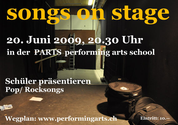 2009 KONZERT - SONGS ON STAGE