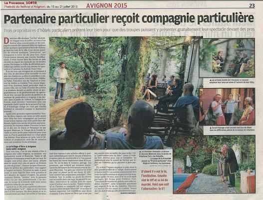 La Provence - 27/07/2017