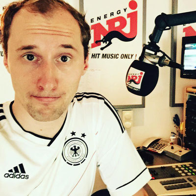 Dominik Kollmann bei Radio ENERGY