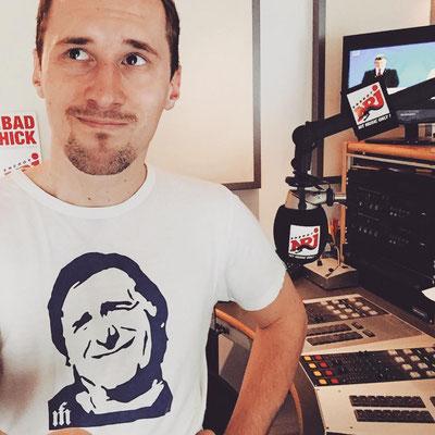 Dominik Kollmann bei Radio ENERGY