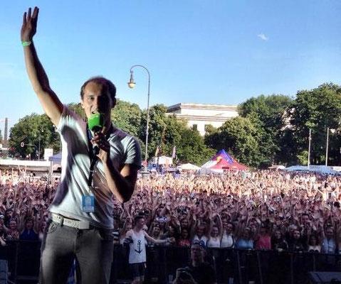 Dominik Kollmann beim Oben Ohne OpenAir