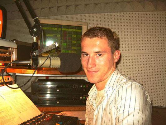 Dominik Kollmann bei Radio 2DAY