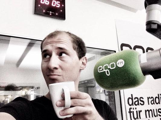 Dominik Kollmann bei egoFM