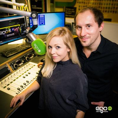 Dominik Kollmann mit Elise Hoffmann