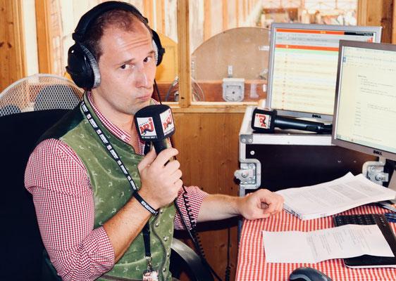 Dominik Kollmann im Radio ENERGY Wiesnstudio