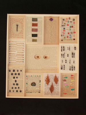 Codex B 2011 45x55x5 cm