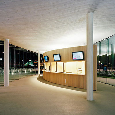 """Hafengebäude """"Die Welle"""" in Bregenz"""