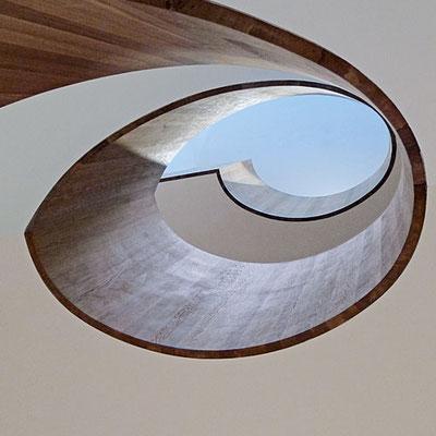 Elliptisches Treppenhaus