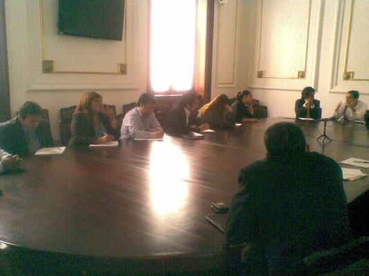 Conferencia en la Asamblea de Representantes del DF, 2010