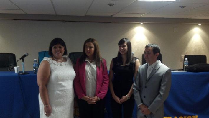 Examen de grado de la Mtra. Lucía Ramírez López en Ciudad Juárez 2012