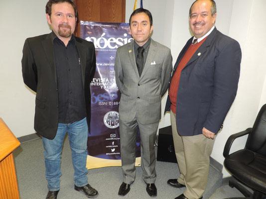 Con el Dr. Adan Cano y Borunda, 2014.