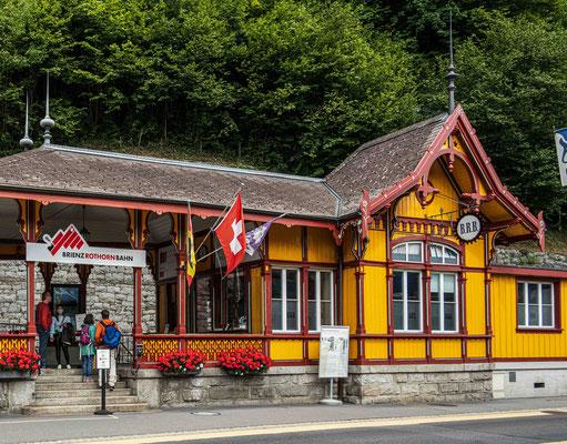 Brienz, Talstation Rothornbahn
