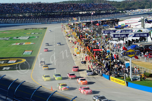 Nascar Race in Talladega
