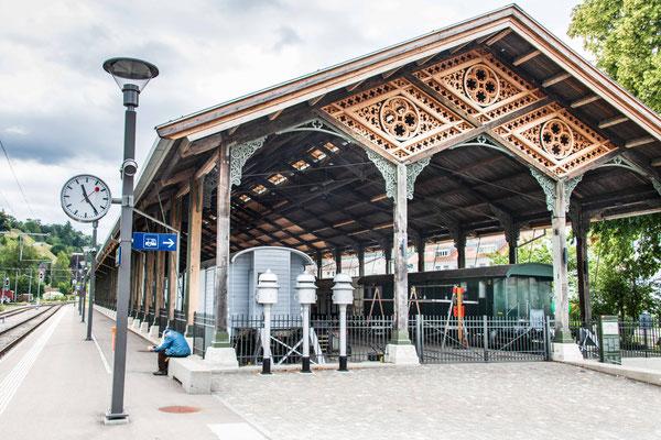Bauma, alte Bahnhofshalle