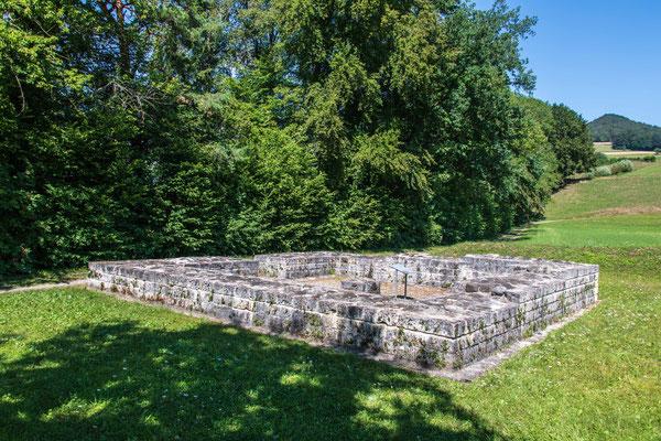 Ruine Römischer Wachtturm bei Tössegg