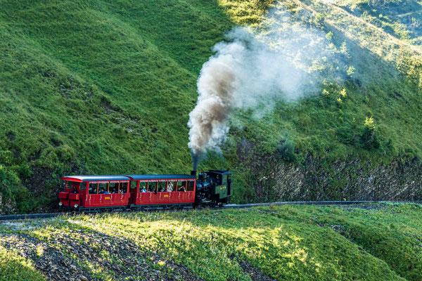 Brienz Rothorn Bahn unterwegs