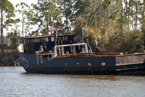 Schifffahrt rustikal