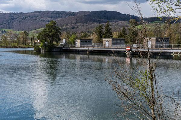 Beim Kraftwerk Schinznach-Bad