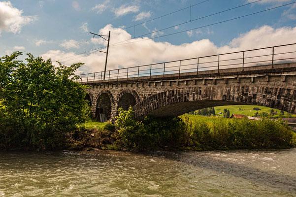 Eisenbahnbrücke Neu St. Johann