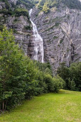 Wasserfall Wildwüestibach bei Tierfehd