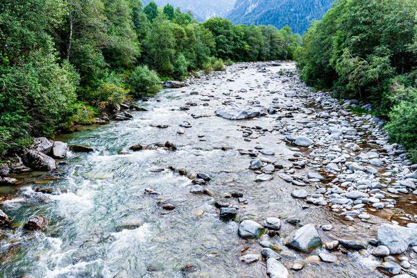 Hinterrhein bei Pignia Bad