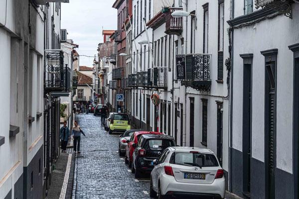 Altstadtgasse Ponta Delgada