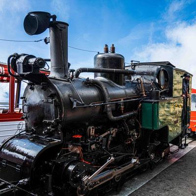 Lokomotive Nr 7, kohlebefeuert