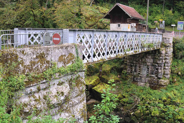 Brücke bei La Goule
