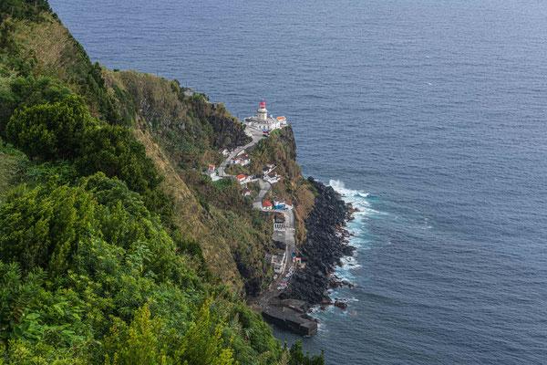 Leuchtturm Farol Punta do Arnel