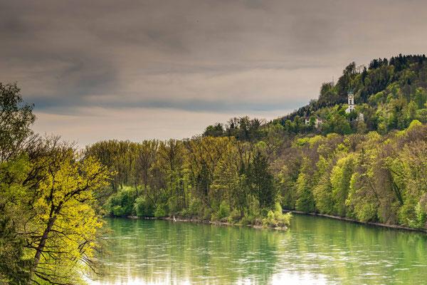 Bei Stilli, Blick auf Vorderrhein AG