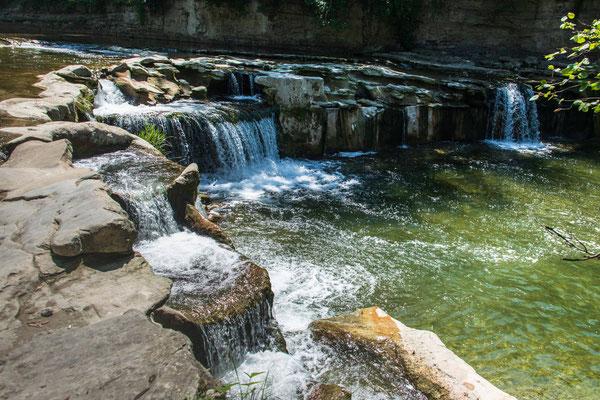 Wasserfall bei Hard