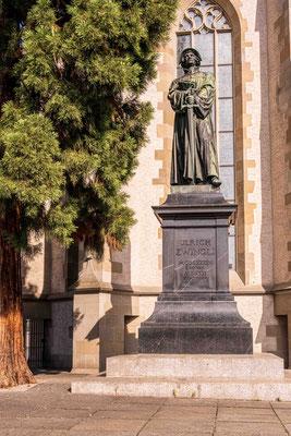 Zürich, Denkmal Zwingli