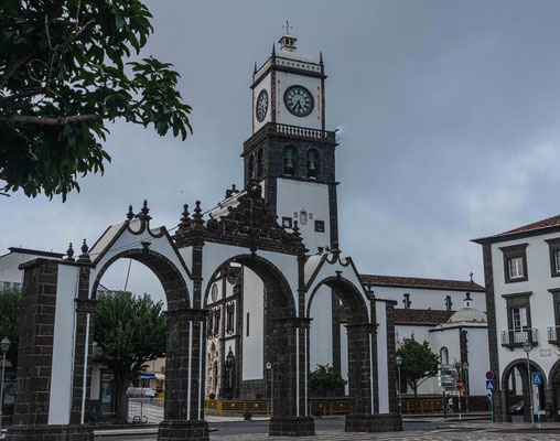 Stadttor Ponta Delgada