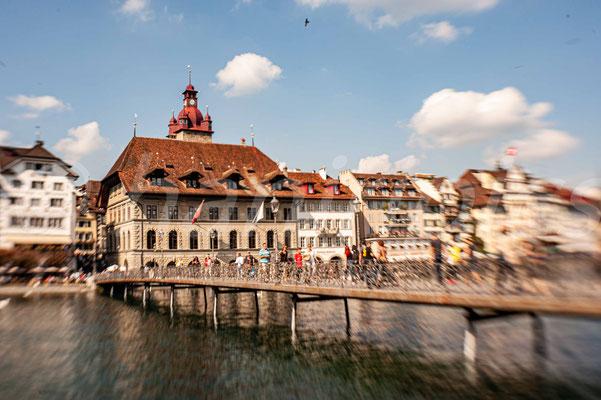 Rathaus mit Rathaussteg