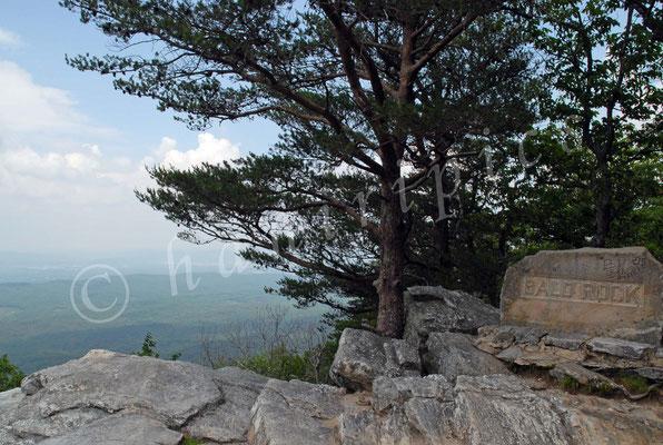 Mount Cheaha - höchster Berg Alabamas mit 734 müM