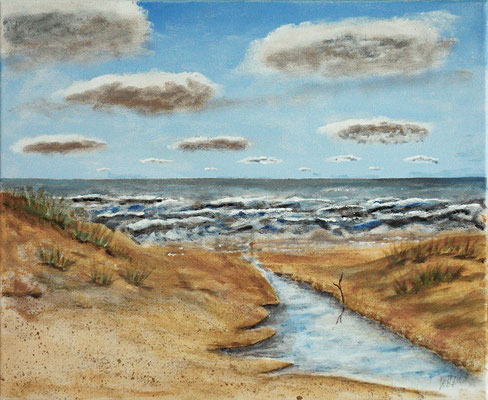Nordsee in Acryl