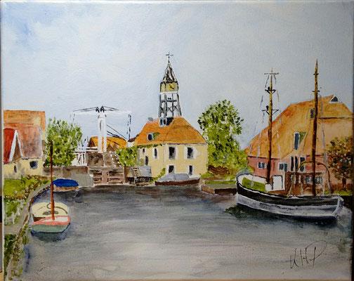 Hindeloopen (NL) in Acryl