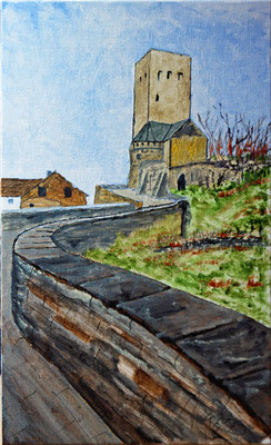 Burg Blankenstein in Acryl
