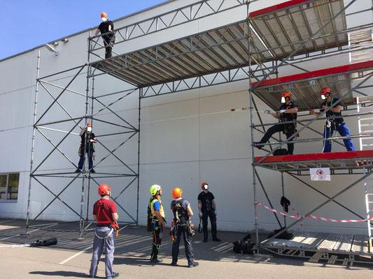 Kletterausrüstung Ulm : Schulungen dguv regel 112 198 199 absturzsicherung und höhenrettung