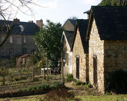 Fontaine-Daniel gardens