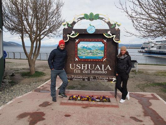 Ushuaia - el fin del Mundo, das Ende der Welt