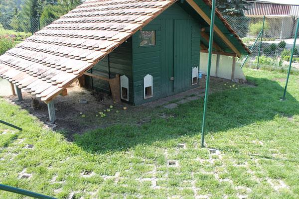Das Hasenhaus im Sommer