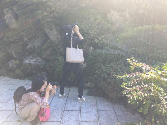 白山比咩神社の禊場にて!