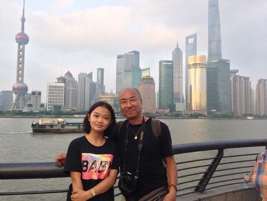 上海で出会った女の子!とっても素敵な会話をこれまたWe chat を使って楽しみました! なんと彼女のハンドルネームは『龍的少女!』 イメージがピッタリ!